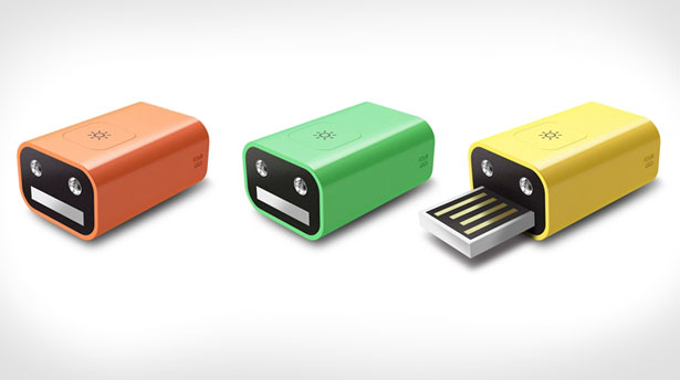 Different colours for pen drive with light