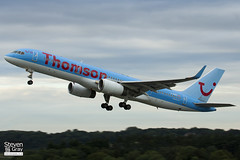 G-OOBG - 29942 - Thomson Airways - Boeing 757-236 - Bristol - 120808 - Steven Gray - IMG_6581