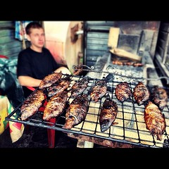 meal, outdoor grill, grilling, barbecue, food, dish, cuisine, cooking,