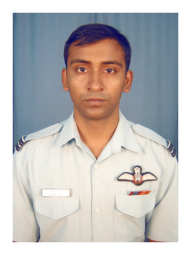 Flt Lt Kharche by Chindits