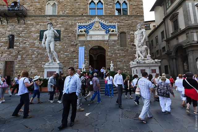 Флоренция - площадь Синьории