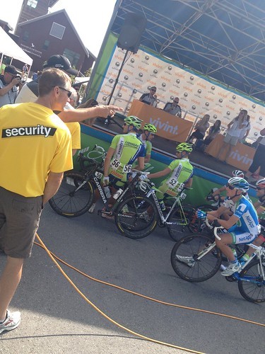 Strangeness at the Tour of Utah