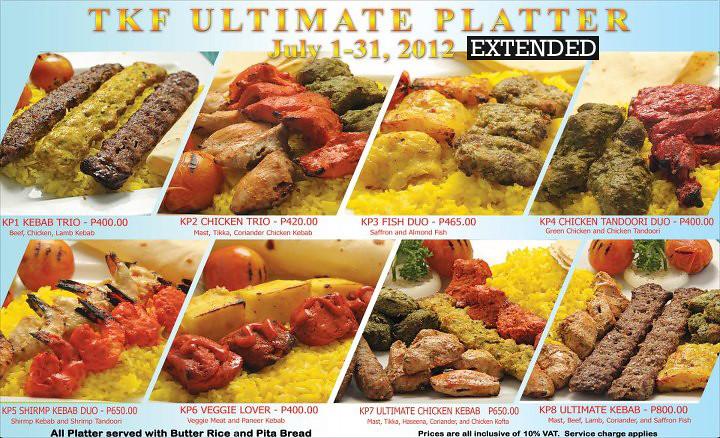 TKF Ultimate Platter