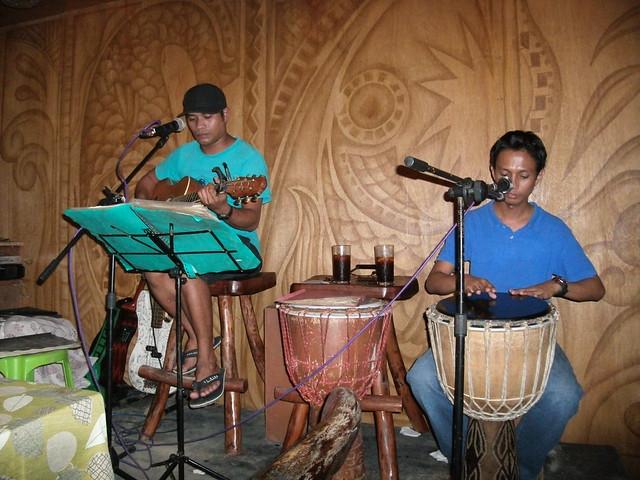 Acoustic set at Sea Slugs Bar & Restaurant