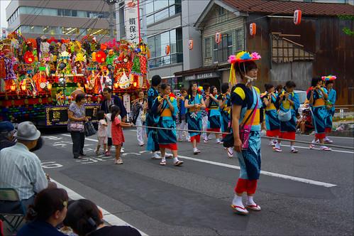 Desfile del Sansha Taisai