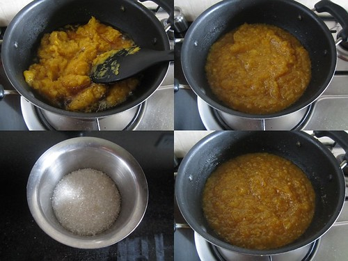 Banana Halwa-step4