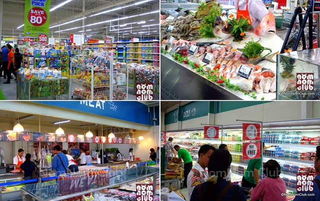 SM Hypermarket Sections