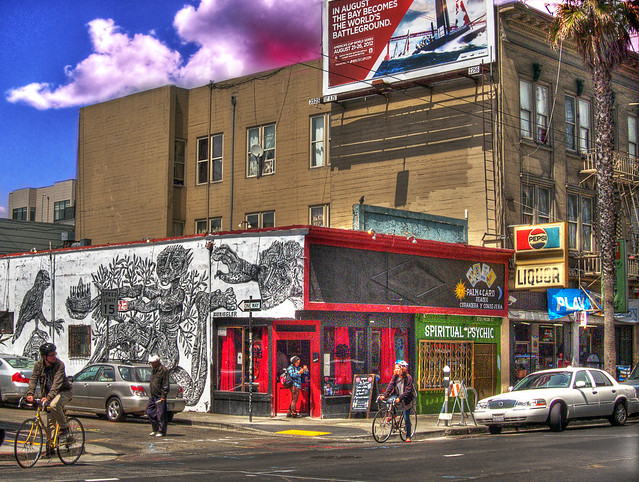 Mission Street Mural, HDR