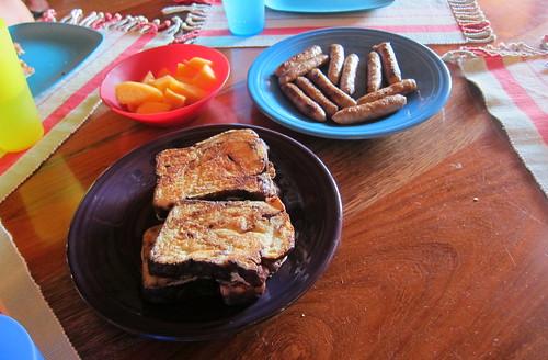 Breakfast a la Bruce