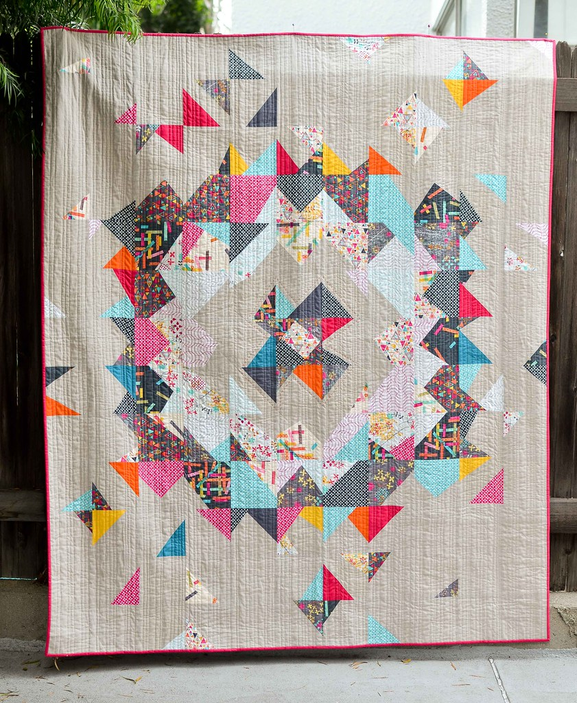 washi supernova quilt