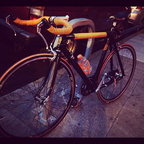 Let's go giants! #giants #bike