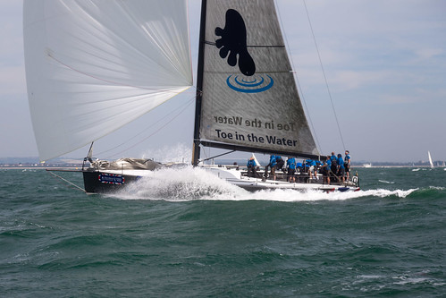 Toe in the Water - Cowes Week 2012