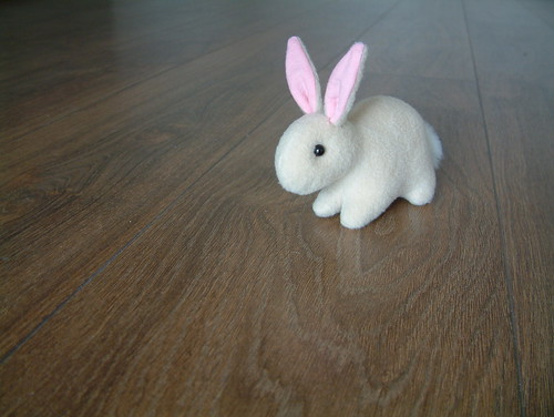 i love to make cute bunnies, this one sorta fits in your hand ...
