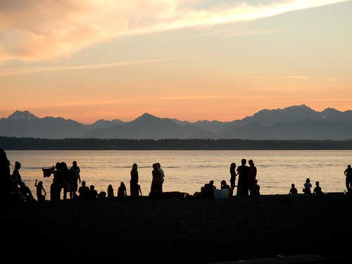 Golden Gardens Sunset