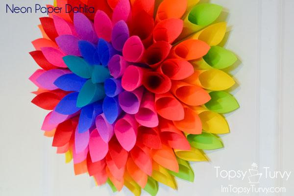 neon-Paper-dahlia