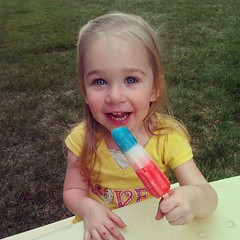 """I want a colorful popsicle!"""