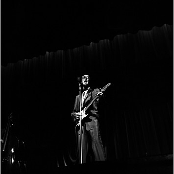 H. Hammond, Buddy Holly at the London Palladium, (1958)