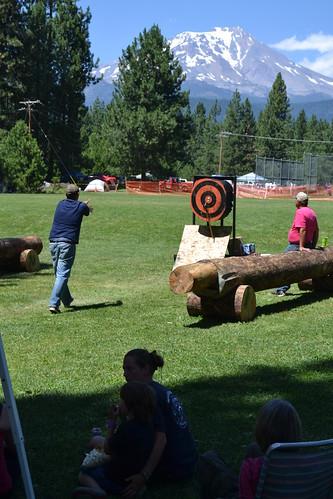 Lumberjack Festival, McCloud, California