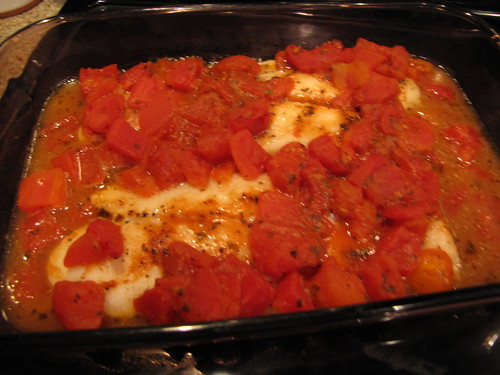 Ridiculously easy fish with tomatoes idiot 39 s kitchen for What side dishes go with fish