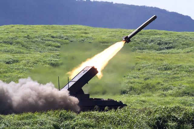 地雷原処理ロケット