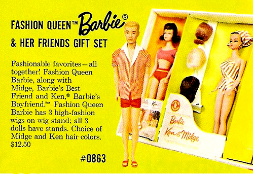 Fashion Queen Barbie, 1963