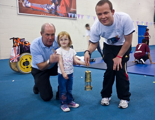 With the Paralympic Flame