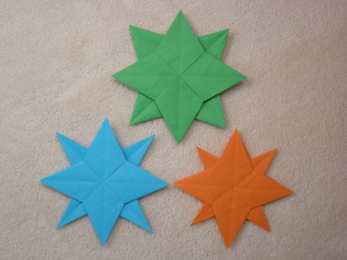 Double star from one square