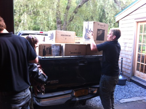 Unloading the Amp for the Jam