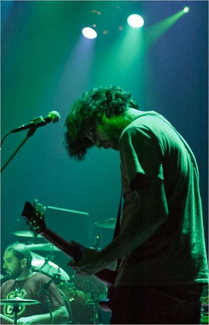 Neila tocaron junto a Baroness en el Kafe Antzokia de Bilbao, el 19 de Julio de 2012