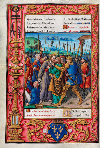 002-Evangeliario de París para uso de Carlos Duque de Angulema-1500-1600-Copyright Biblioteca Digital Hispánica