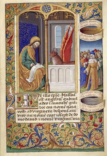 010-Libro de horas de Carlos VIII Rey de Francia -1401-1500-Copyright Biblioteca Nacional de España