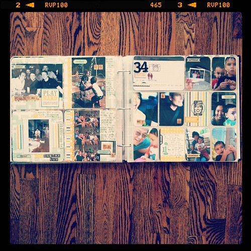 #projectlife week 34 full spread