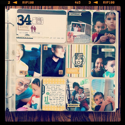 #projectlife week 34 right side