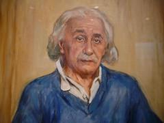 art, painting, senior citizen, elder, person, portrait,