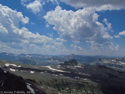 Afternoon clouds over Alaska Basin, Grand Teton National Park, Wyoming