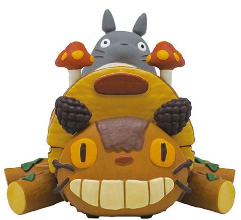 宮崎駿『動畫車輛系列』 新款好評續推!龍貓手作的「貓巴士」歡樂登場!