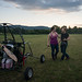 Us, Hugging with Paramotor Quad (by Lizza)