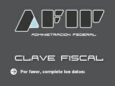 Clave Fiscal por internet
