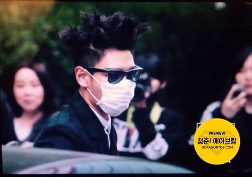 BIGBANG KBS Music Bank arrival 2015-05-15 cr on pic 010