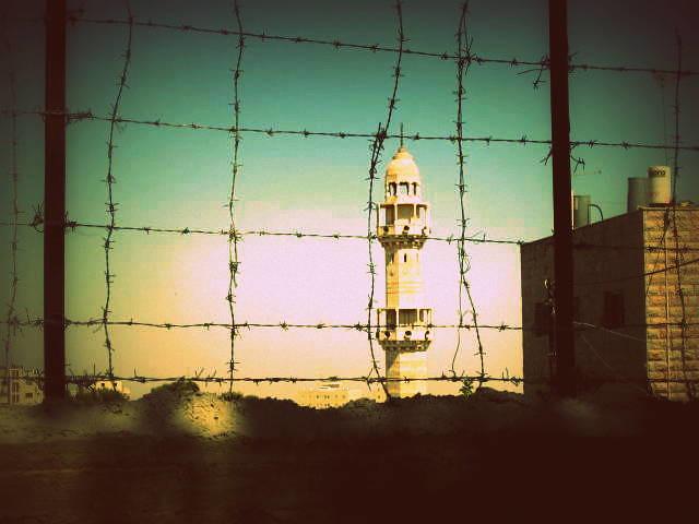 Minaret in Israel