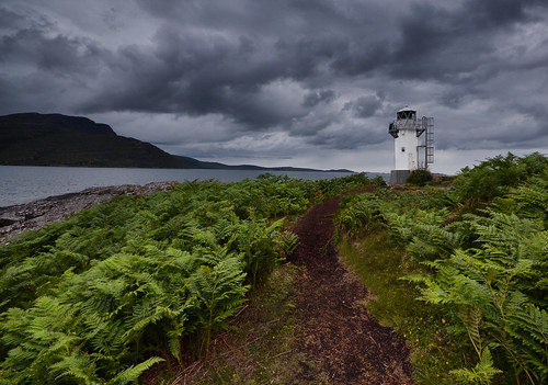 Rhue Lighthouse - Scottish Highlands