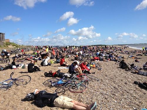Dunwich Dynamo beach