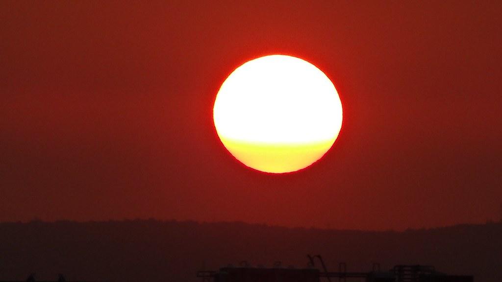 DSC-HX30V 夕陽西下