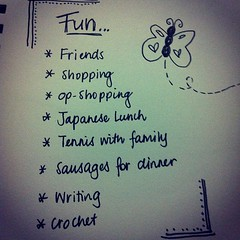 Day 4: Fun. Hmmm... I have done ALL these things today! Love holidays! #photoadayjuly #bdrawsthings #handdrawn