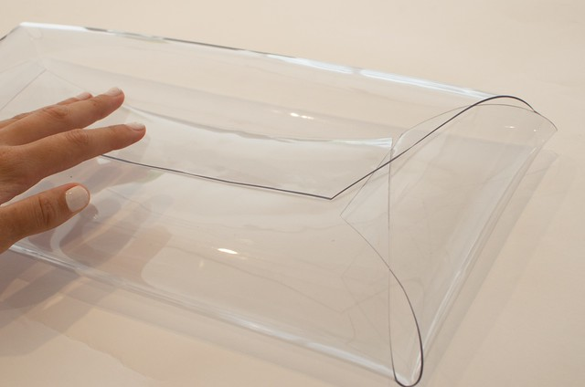 diy transparent clutch 5