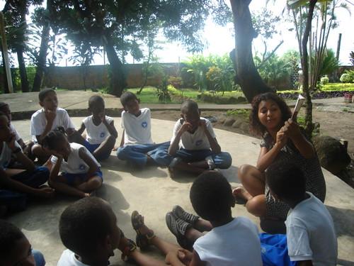 Oficina de Contação de Histórias Afro-brasileiras