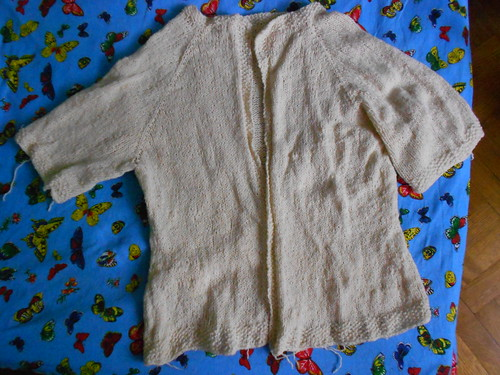 Laura Chau top down cardigan