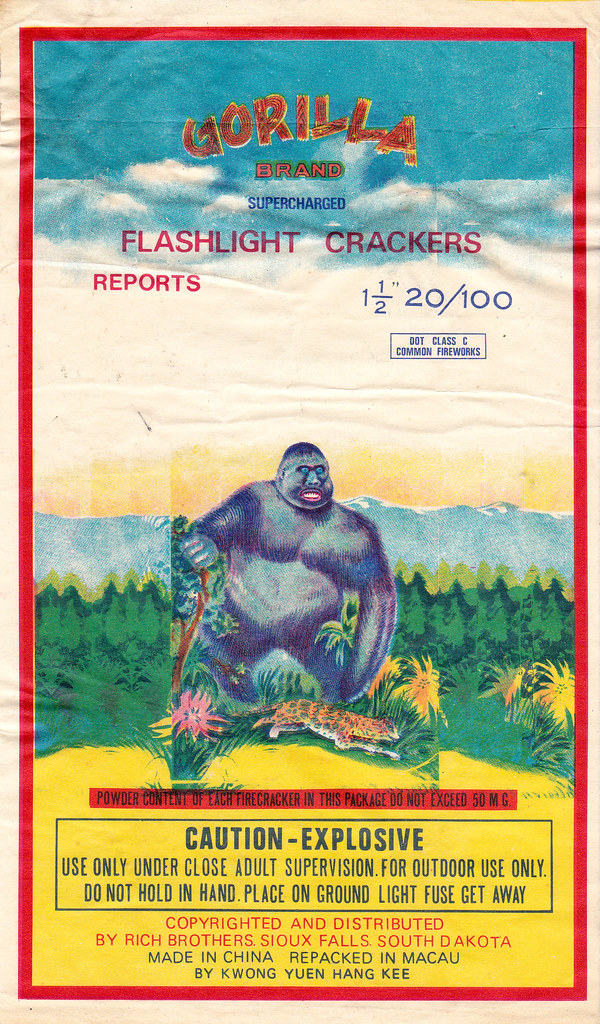 Gorilla - Firecracker Brick Label 40- 32's
