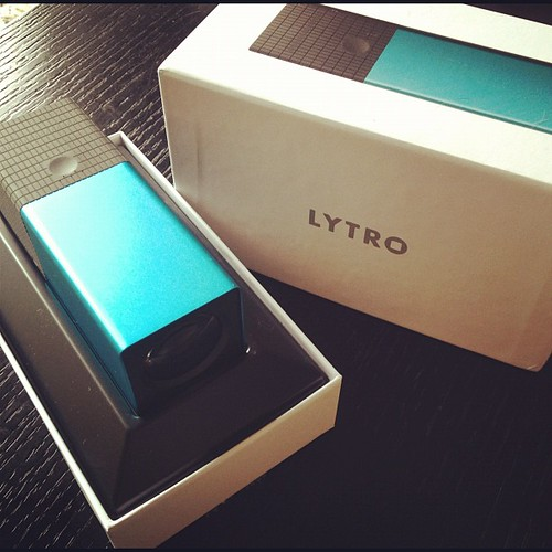 さて、Lytroで何を撮ろう。結構サイズでかい。