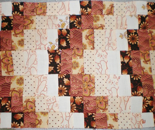 Bargello Patchwork Completed 2